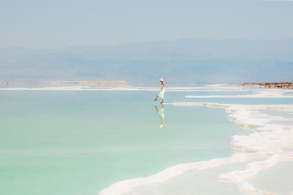 Schönheit aus dem Toten Meer